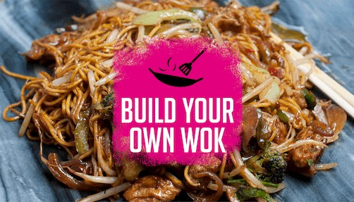 Chop and Wok - Build your own wok